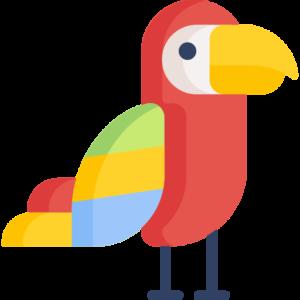 de llor papegaai